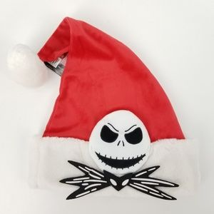 Other - Nightmare Before Christmas Fuzzy Jack Santa Hat